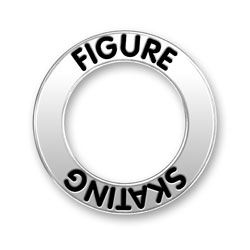 Figure Skating Message Ring Image