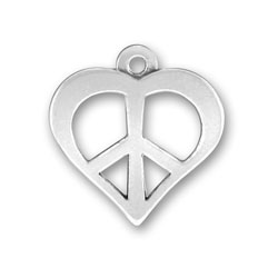 Peace And Love Cutout Charm Image
