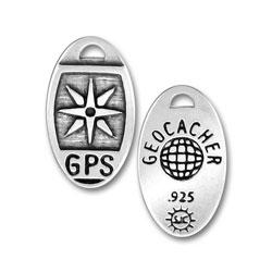 Geocaching Gps Charm Image