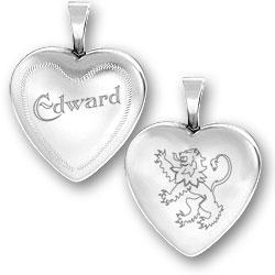 Edward Lion Locket Image