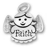 Faith Angel Charm Image