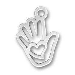 Love In Hand Charm Image