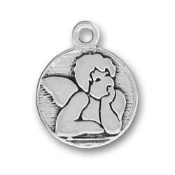 Pewter Raphaels Angel Charm Image