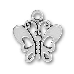 Pewter Butterfly Charm Image