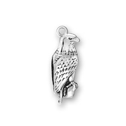 Small Bald Eagle Charm Image