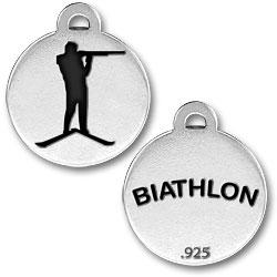 Biathlon Charm Image