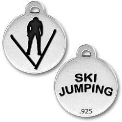 Ski Jumping Charm Image