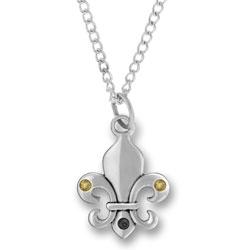 New Orleans Fleur De Lis Necklace Image