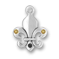 New Orleans Fleur De Lis Charm Image