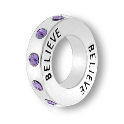 February Believe Affirmation Ring Image