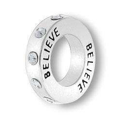 April Believe Affirmation Ring Image
