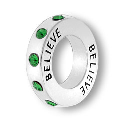 May Believe Affirmation Ring Image