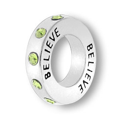 August Believe Affirmation Ring Image