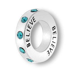 December Believe Affirmation Ring Image