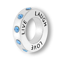 March Live Love Laugh Affirmation Ring Image