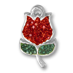 Red Tulip Charm Image