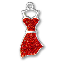 Red Dress Charm Image