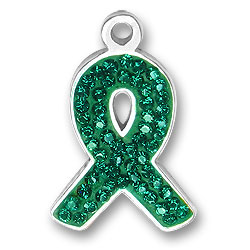 Green Ribbon Charm Image