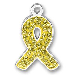 Yellow Ribbon Charm Image