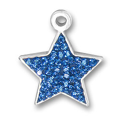 Blue Star Charm Image