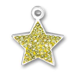 Yellow Star Charm Image