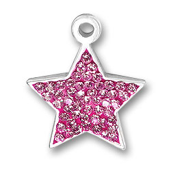 Pink Star Charm Image