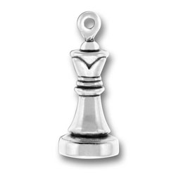 Queen Chess Piece Charm Image