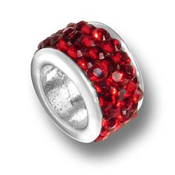 Garnet Crystal Bead Image
