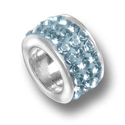 Aquamarine Crystal Bead Image