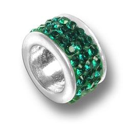 Emerald Crystal Bead Image