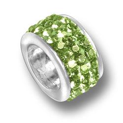 Peridot Crystal Bead Image