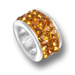 Topaz Crystal Bead Image