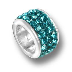 Zircon Crystal Bead Image