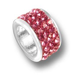 Pink Crystal Bead Image