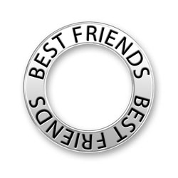 Best Friends Message Ring Image