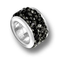 Black Crystal Bead Image