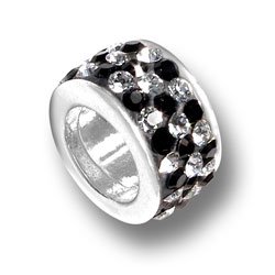 Checkered Crystal Bead Image
