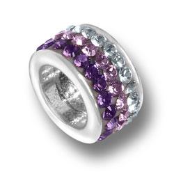 Purple Fade Crystal Bead Image