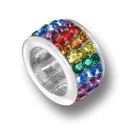 Rainbow Crystal Bead Image