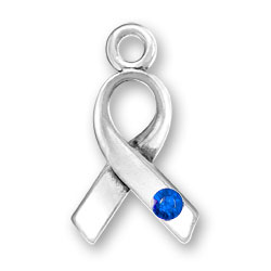 Ribbon With Blue Crystal Image