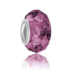 Amethyst Glass Bead Image
