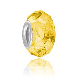 Topaz Glass Bead Image