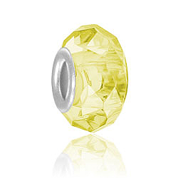 Citrine Glass Bead Image
