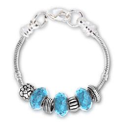 March Aquamarine Bracelet Image