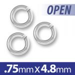 48mm Open Jump Ring Image