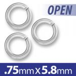 58mm Open Jump Ring Image