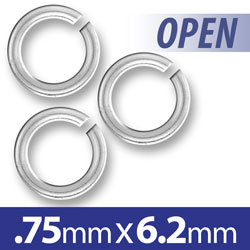 62mm Open Jump Ring Image