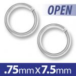 75mm Open Jump Ring Image