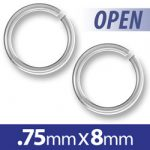 8mm Open Jump Ring Image