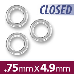 49mm Closed Jump Ring Image